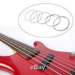 Basses Électriques Cordes Set 5 Cordes En Acier Inoxydable Guitare Cordes Nouveau