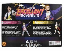 Bill & Ted's Excellent Adventure Air Guitar Collectors Ensemble De 2 Figures D'action