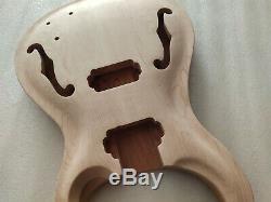 Bon 1 Jeu Manche De La Guitare Inachevée Et Kit Guitare Style Prs Corps