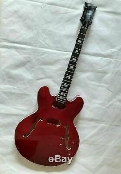Bricolage 1 Jeu Fini Guitare Cou Et Le Corps Pour Kit Guitare Style Es335