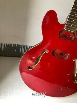 Bricolage 1 Set Fini Guitar Collier Et Corps Pour Kit De Guitare De Style Es335