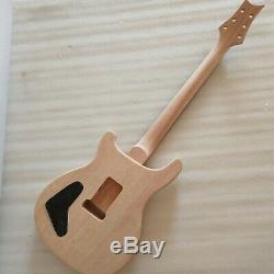 Bricolage Unfinished 1 Jeu Kits De Guitare Électrique Corps Et Le Cou Pour Les Pièces De Style Prs