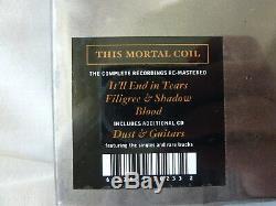 Ce Coffret 4 CD Remasterisé Mortal Coil Pour Guitares Et Poussières, Tout Neuf Et Scellé