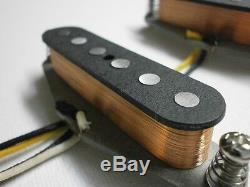 Classique Mustang Guitare De Ramassage Set A5 Vintage Convient Fender Duo Sonic Handwound Q