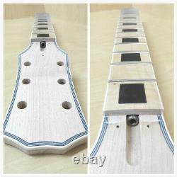 Corps Semi-creux Guitare Électrique Diy, Non-soudure, Set Neck, Bk Haridwar 239diy Smb