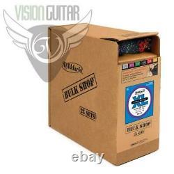 D'addario Exl115-b25 XL Cordes De Guitare En Vrac Sets 11-49 Gauge (25 Sets Complets)