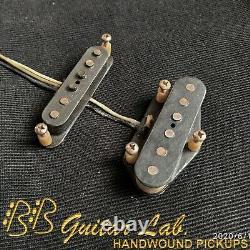 David Gilmour Esquire 1955 Set Tele Pickups Repro Relic Handwound Bb Guitar Lab