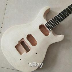 De Haute Qualité Unfinished 1 Set Corps De Guitare Électrique Et Le Cou Pour Le Style Prs