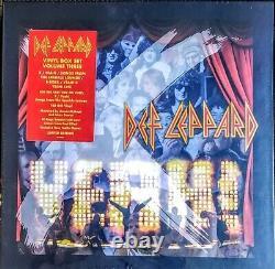 Def Leppard Vinyl Collection Volume 3 -180 Gram Vinyl 9lp Set En Carton Nouveau, Scellé