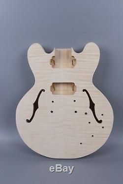 Diy Body Set Guitare Électrique + Guitare Cou À La Main Unfinished