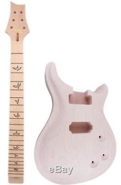 Diy Set Guitare Électrique + Cou Body Guitare 22 De 25 Pouces Maple Touchette Guita Pièces