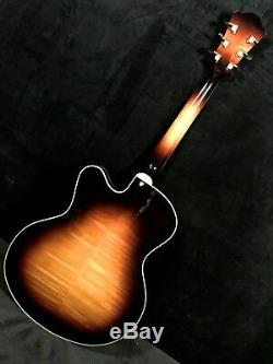 Eastman Jazz 17 Elite Sunburst Archtop W Set Hb P / U Guitarsn Jazz, Summit, Nj