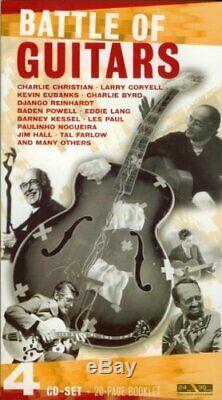 Eddie Lang Battle Of Guitars 4 CD Box Set Importation Marque Newithstill Scellés