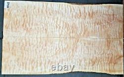 Érable Matelassée 5a Instrument Wood 11545 Solid Body Guitar Top Set 23,5x 14x. 437