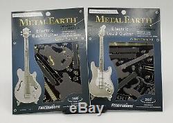 Fascinations Métal Terre Jeu De 2 Kits Guitares Électriques Et Basses New Unopened