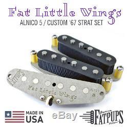 Fat Little Wings Strat Set Stratocaster Remontage Manuel Personnalisés Micros Guitare