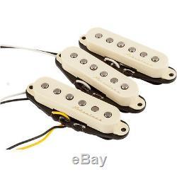 Fender Vintage Noiseless Strat Guitar Set De Ramassage Blanc Alnico Sss Eric Clapton