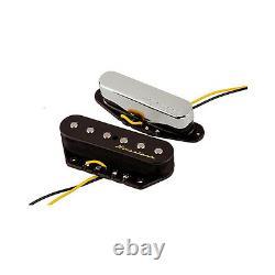Fender Vintage Noiseless Tele Telecaster Noiseless Bridge Kit De Ramassage De Guitare