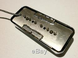 Fleuret P90 Savon Set Bridge De Ramassage Et Du Cou D'or Chrome Électrique Personnalis¨| Guitare