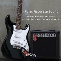 Gitarren Émetteur Sans Fil Émetteur Récepteur Empfänger Système Audi Digital Bass