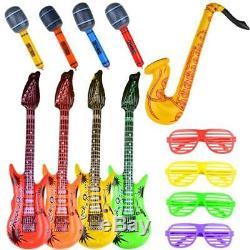 Gonflable Toy Party Favor Set Star Guitar Rock Lunettes Enfants Halloween Nouveau