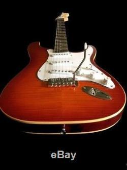 Grand Jeu-action Nouvelle Configuration Trans-orange Up Grade Roi Guitare Électrique