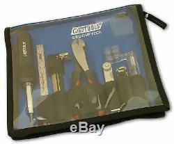 Groovetech Électrique Guitar Player Tech Kit Tools Pour Guitar Set-up Et Réparation