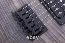 Grote Tele Set Dans Le Cou Electric Guitar Black Couleur Locking Accordeurs