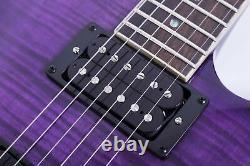 Grote Tele Set-in Guitare Électrique Avec Accordeurs De Verrouillage (violet)
