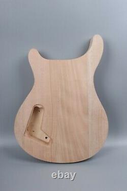 Guitare Électrique 1set Kit Col De Guitare Body Maple Ahogany Wood 22fret Rosewood