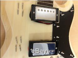 Guitare Électrique Kits De Bricolage, Cou Set, Complet Non-soudure-240