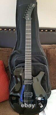 Guitare Électrique Nouveau, Nouveau, Nouveau Parker Pm10 Avec L'original Hd Bag Set Neck