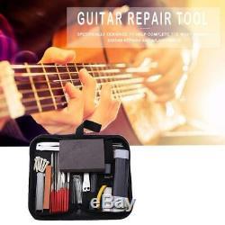 Guitares Réparation D'entretien Ensemble D'outils Boîte À Outils Guitare Avec Broyage Nouveau Chantourner Fichier