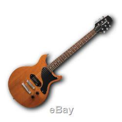 Hamer Junior Guitare Électrique P90 Solid Body Set Configuration Pro-scm Neck Livraison Gratuite