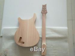 Haute Qualité 1 Set Corps De Guitare Électrique Et Kit Prs Cou Parties De Guitare Diy