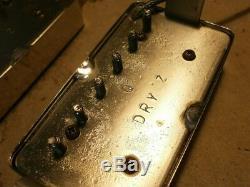 Humbucker Ramassage À Sec Set Z Par Q Vintage Guitare Sg Lp Jv Greco Egf Lp