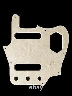 Jaguar Guitar Set Modèle Cnc Fait Des Modèles Précis À 100%