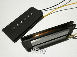 Jazzmaster Hybrid Guitare Micros Set A5 P90 / Humbucker Wound Main Fender Fat Q