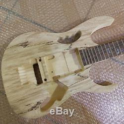 Jeu De 1 Manche Et Manche De Guitare Non Finis De Haute Qualité Pour Kit De Guitare De Style Ibanze