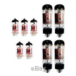 Jj Tesla Prime Tube Set Pour Complement Peavey 5150 Amplificateur Guitar Amp Nouveau