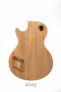 Kit Guitare 1set Collier De Guitare 22fret Guitar Body Ahogany Maple Set En Trapézoïde