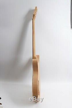Le Manche De La Guitare De Guitare 1set Body Kit D'érable Bricolage Guitare Électrique Érable Touche Palissandre