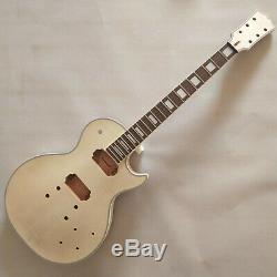 Meilleur 1 Jeu Bricolage Inachevé Guitare Cou Et Le Corps Pour Le Kit De Guitare De Style Lp