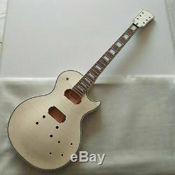 Meilleur 1 Jeu Inachevé Kit Guitare Électrique Guitare Diy Avec Tout Le Matériel / Lp Style