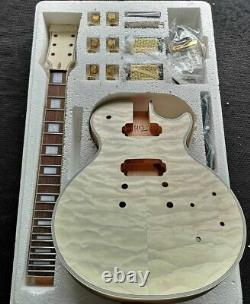 Meilleur Diy Unfinished 1 Ensemble Corps De Guitare Électrique Et Le Cou Pour Les Kits De Guitare De Style Lp