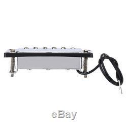 Métal Et Électronique Matériel Humbucker Pont Du Cou Set Pour Ramassage Lp Guitares À