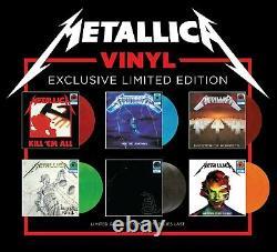 Metallica Exclusive- Tous Les 6 Walmart Exclusive Limited Vinyle Record Lp Set