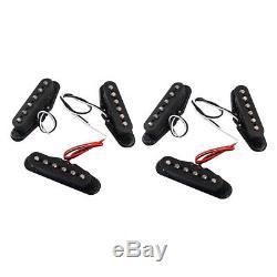 Micros Simple Bobinage Cou / Moyen / Pont Set Pour St Guitares Électriques Nouveau