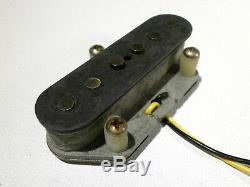 Micros Telecaster Relic Set 69 Aged Tele 1969 Vintage Correct Handwound Guitare