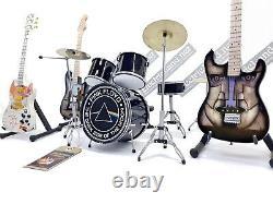 Mini Live Set Pink Floyd Hommage 14 Mini Drum Guitare David Gilmour Gadget